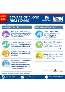 SC : Beware of Clone Firm Scams